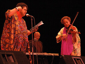 Avotcja, Billy Dunn & Sandi Poindexter @ Bay Blues Society Hall Of Fame Awards 2005 Calvin Simmons Theater Oakland, CA